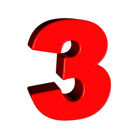 Tres Número 3 · Imagen gratis en Pixabay
