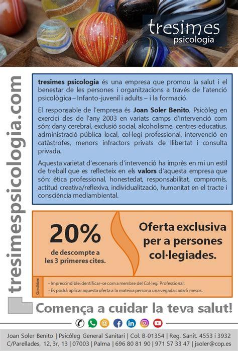 tresimes psicologia – Oferta avantajosa per a les persones ...