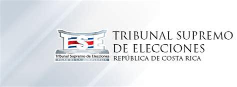 Tribunal Supremo De Elecciones Costa Rica Consultas ...