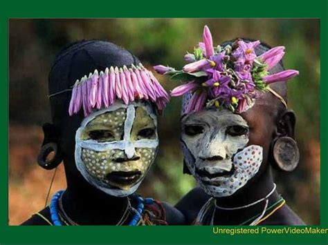Tribus del rio Omo en Africa - YouTube