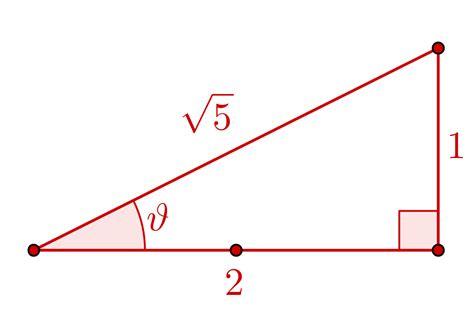 trigonometry   Prove that $\cos \arctan 1/2 = 2/\sqrt{5 ...
