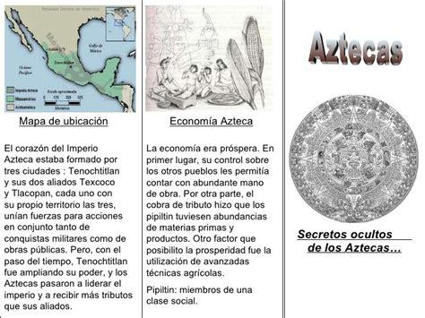 Triptico Aztecas
