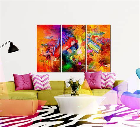 Triptyque   collection de tableaux modernes chez bimago