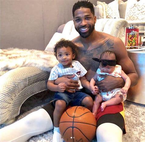 Tristan Thompson Shares Photos of His Children Bonding ...