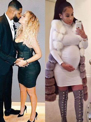 Tristan Thompson's Baby Mama Who He Dumped For Khloe ...