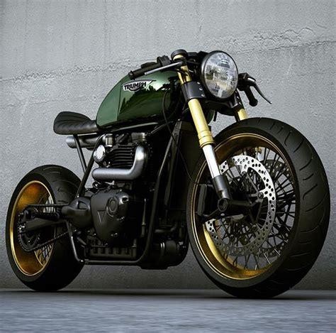Triumph Cafe Racer Concepts by Ziggy Moto - The Bullitt