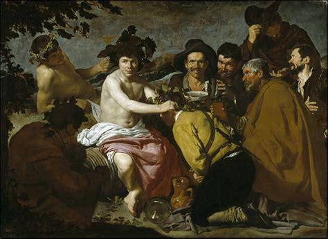 Triunfo de Baco o los borrachos, El [Velázquez]   Museo ...