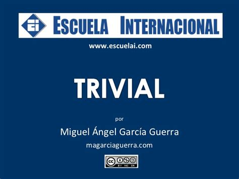 Trivial de cultura española para alumnos extranjeros