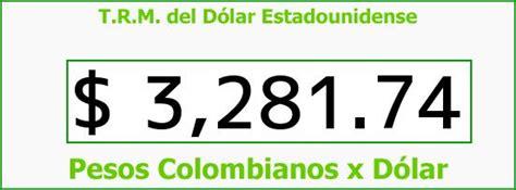 TRM Dólar Colombia, Domingo 24 de Enero de 2016 | Precios ...