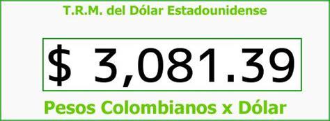 TRM Dólar Colombia, Jueves 7 de Abril de 2016 | Precios ...