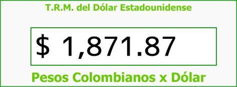 TRM Dólar Colombia, Sábado 19 de Julio de 2014 | Precios ...