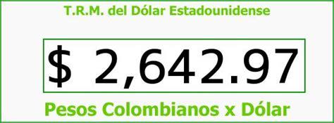TRM Dólar Colombia, Sábado 4 de Julio de 2015 | Precios ...