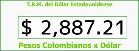 TRM Dólar Colombia, Viernes 9 de Octubre de 2015 | Precios ...