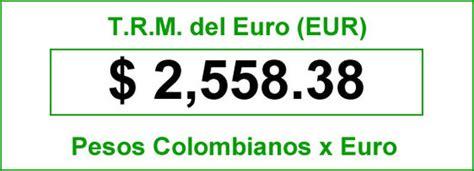 TRM Euro Colombia, Sábado 21 de Junio de 2014 | Precios ...