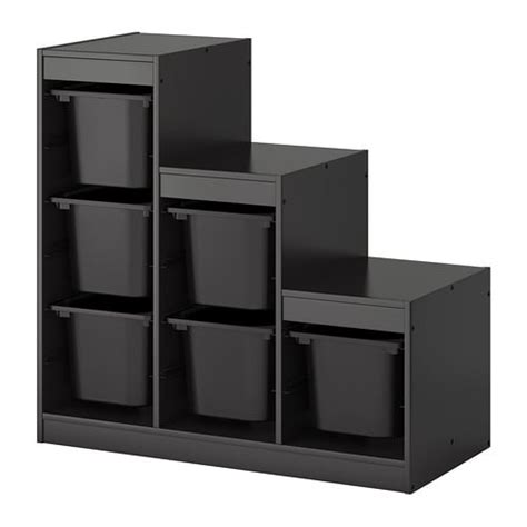TROFAST Storage combination with boxes - IKEA