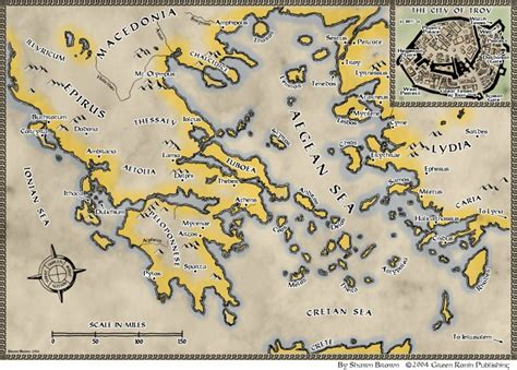 Trojan War Map by shawnbrown on DeviantArt