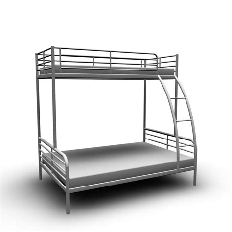 TROMSÖ Bunk bed frame - Design and Decorate Your Room in 3D