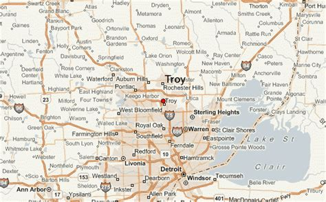 Troy Map | www.imgkid.com   The Image Kid Has It!