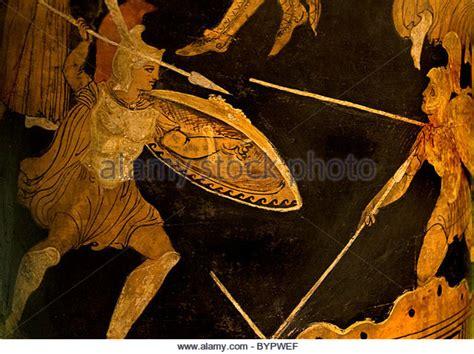 Troy Trojan War Fighting Achilles And Memnon 300 Bc Greek ...