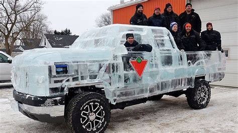 truck made of ice3   KMPH