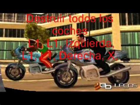 trucos grand theft auto liberty city para psp - YouTube
