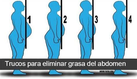 Trucos para eliminar grasa del vientre  y no morir en el ...