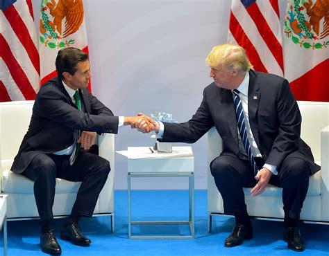 Trump insiste ante Peña Nieto en que México pagará el muro ...