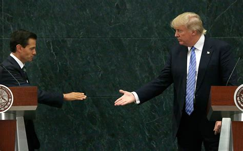 Trump talks wall with Mexico s Pena Nieto – Echonetdaily