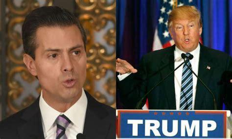 Trump to meet with Mexican President Enrique Pena Nieto ...