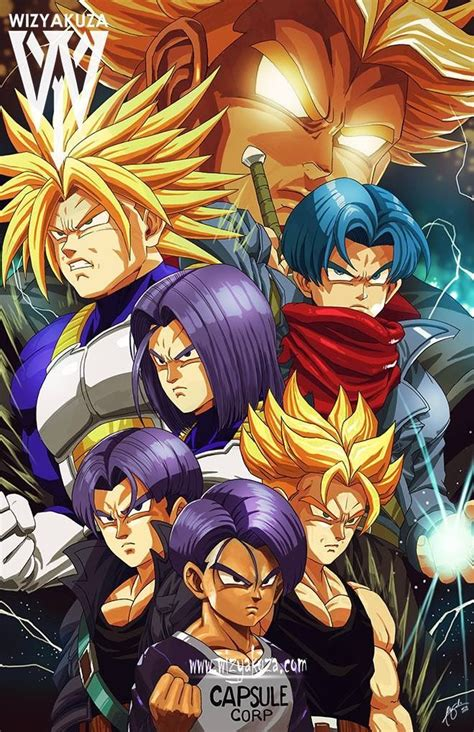 Trunks transformations | DBZ/DBS | Pinterest | Dragon ball ...