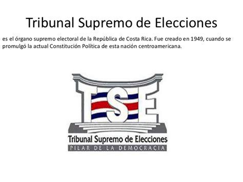 tse tribunal supremo de elecciones tse en costa rica costa ...