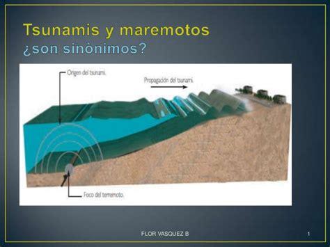 Tsunamis y maremotos