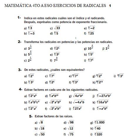 Tu ayuda con las Matemáticas: MATEMÁTICA 4TO ESO NÚMEROS ...