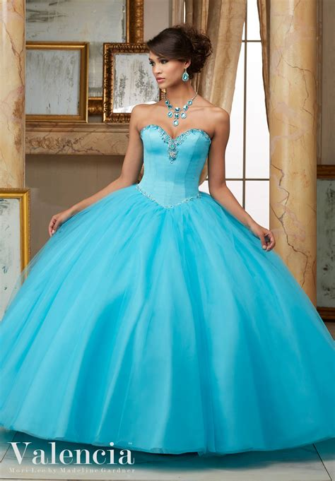 Tulle Ball Gown Quinceanera Dress | Style 60005 | Morilee