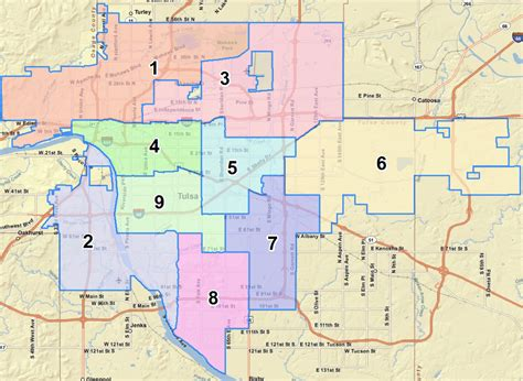 Tulsa Council Districts Map – Selling Real Estate in Metro ...