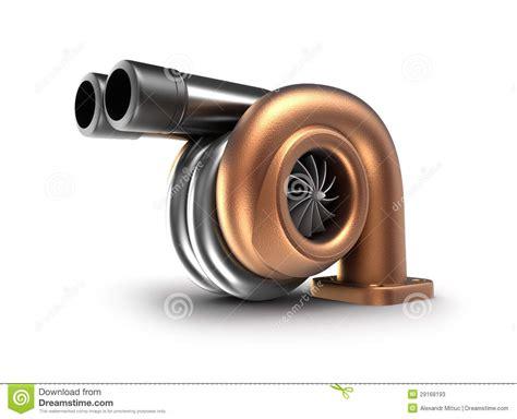 Turbocompresor. Concepto Auto De La Turbina. Fotos de ...