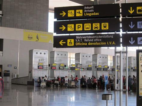 Turismo.  El aeropuerto de Málaga Costa del Sol estrena ...