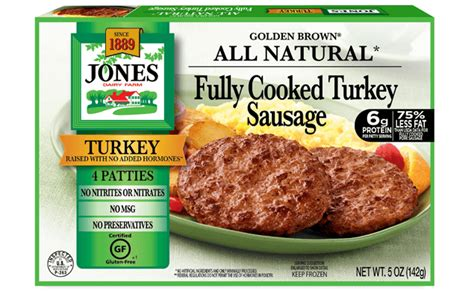 turkey sausage nutrition