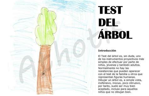 ¿Tus hijos tienen problemas? Haceles el Test del árbol ...
