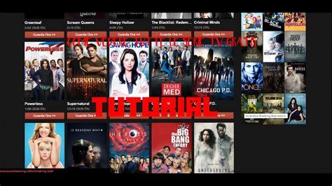 tutorial #3 come vedere tutte le serie tv e film gratis ...