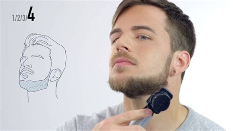 Tutorial barba: Corte de barba Mentón y líneas definidas ...