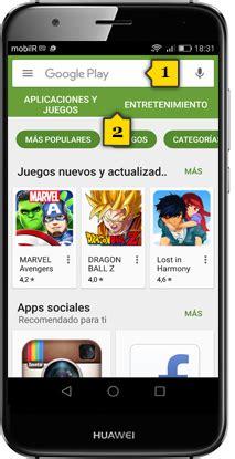 tutorial - búsqueda y descarga de aplicaciones - huawei g8