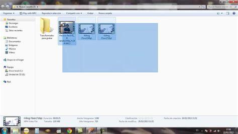 Tutorial: ¿Como convertir/grabar videos para verlos en un ...
