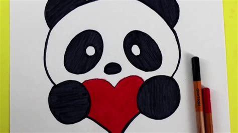 Tutorial como dibujar un Panda Kawaii - YouTube