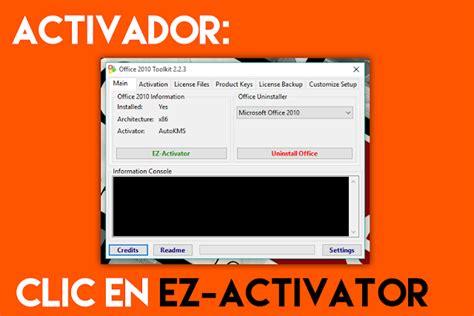 Tutorial De Como Activar Microsoft Office Sin Descargar ...