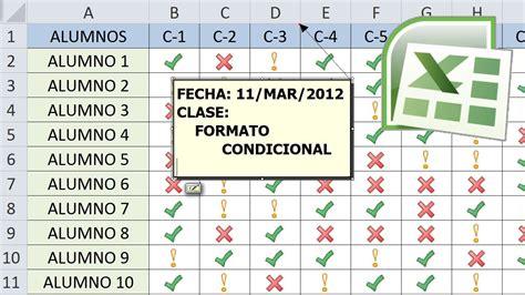 Tutorial de Excel   4 ejemplos de Formato Condicional ...