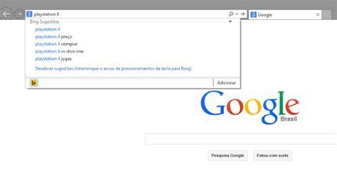 Tutorial: Definindo o Google  PT BR  como buscador padrão ...