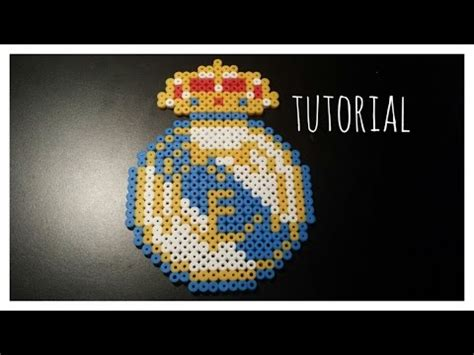 TUTORIAL: Escudo Real Madrid con Hama Beads + Saludos ...