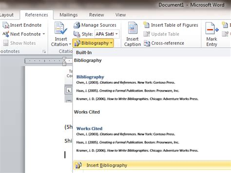 Tutorial Membuat Rujukan Format APA Menggunakan Microsoft ...