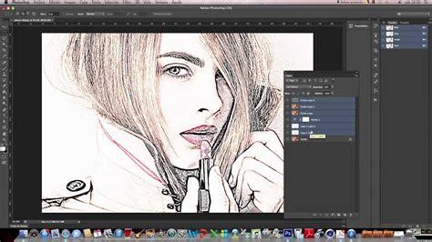 Tutorial Photoshop CS6 en español: Fotografía a Dibujo ...